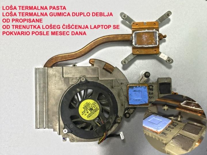 Čišćenje laptopa 3