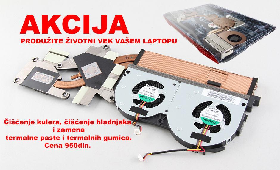 Čišćenje laptopa 2